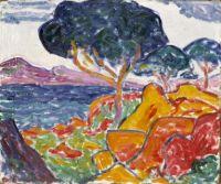 Landscape, ca. 1909-1914, Carl Newman