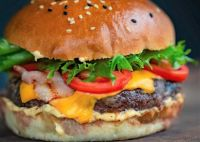 November 16 is also National Fast Food Day - Bacon Cheeseburger