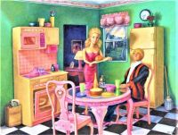 Barbie and Ken's Dream Kitchen