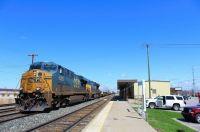 CSX Q003 at Buffalo Depew Station