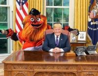 Gritty the Flyers Mascot