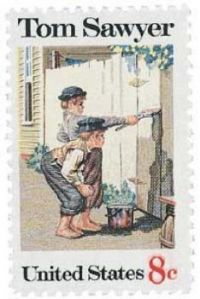 Tom Sawyer Stamp