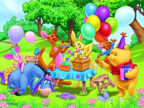 Poo Bear Picknick
