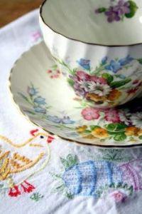 A Pretty Tea Cup