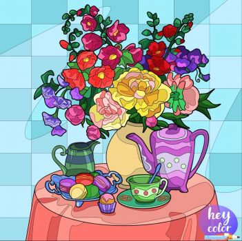 Tea and Blooms