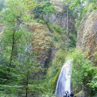 A waterfall in Oregon State, USA