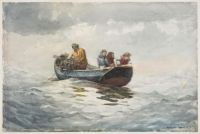 Winslow Homer--Crab Fishing, 1883