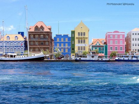 Curacao Willemstad_harbor