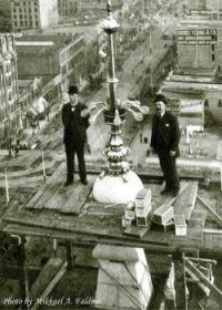 Replacing light bulbs.  Early Salt Lake City, UT