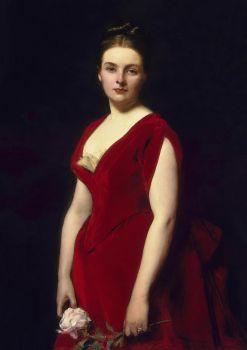 Anna, Vintage Woman Portrait
