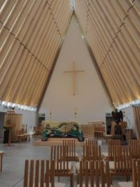 Christchurch Cardboard Cathedral - interior