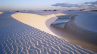 Sunset at White Sands National Park, New Mexico