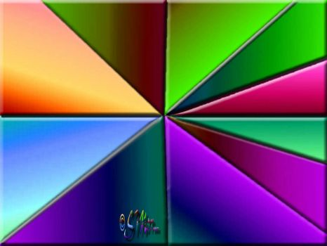 Experiment In Color/Colour.... Triangular Gradients .... (S)