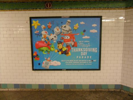 Macy's Parade Poster in NYC