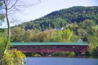 Theme: Historic Places - Taftsville Covered Bridge, Taftsville, Vermont