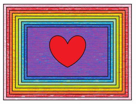 rainbow rectangle