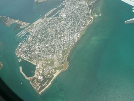 Approaching Key West!