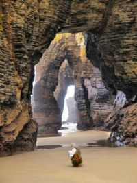 Cathedrals Beach, Ribadeo, Spain