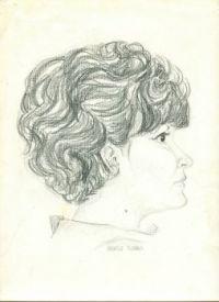 joyce sketch by margit -1962 (1)