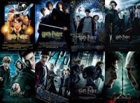 All 8 Harry Potter Movie Posters