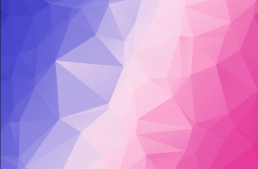 Purple, Pink, and Light pink Mixed Colors