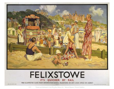 Punch and Judy at Felixstowe