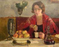 Albert ANDRÉ (1869 - 1954) Le petit déjeuner