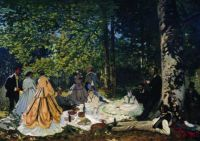 Claude Monet - Luncheon on the Grass, 1865 (Jun17P01)