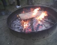 Tonight Boy Scout Camp Fire 5/10/13