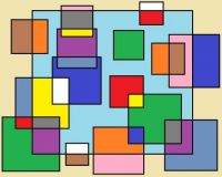 Wobblybear Creations 620 - (now FREE to own) - Abstract squares13092021 (Medium)
