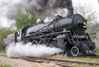 Scenic and heritage train rides in the Midwest States  USA