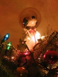 2015 Snoopy Top Ornament