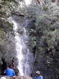 Myberg waterfall.