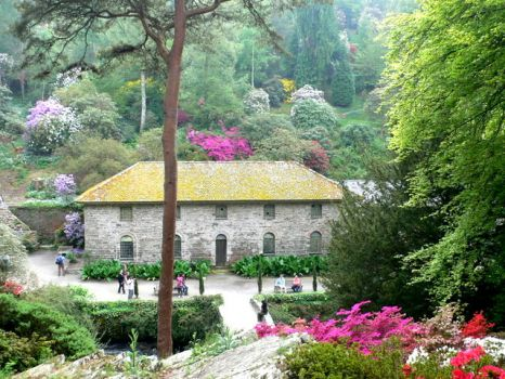 The Old Mill, Bodnant Garden, Graig, Conwy, Wales.  Photo by Eirian Evans