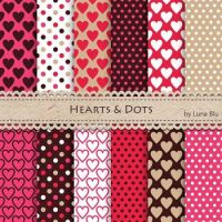 Hearts & Dots for Valentine's Day!