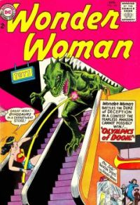 Wonder Woman And The Department Store Dinosaur