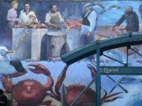 Mural at Fisherman's Wharf