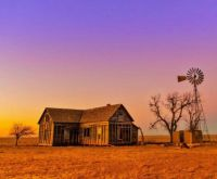 Old Homestead on the Plains....