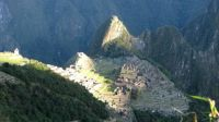 Sunrise on Machu Picchu
