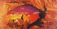 Rock Formations in Utah            Photo taken by Robert Cushman Hayes