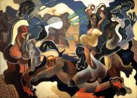 Wladimir Baranoff Rossine - The Judgement of Paris (1928)