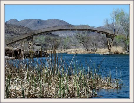 The Bridge at Patagonia State Park