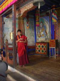 Bhutanese Monk