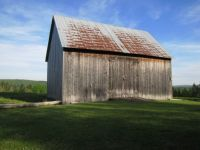 Old Barn on a Beautiful Day.