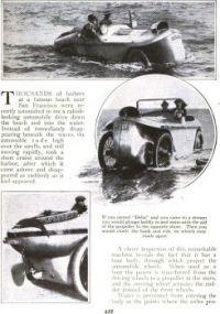 Delia The Motor Duck