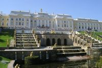 The Peterhof Palace near St Petersburg - another view
