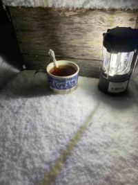 Black Tea in the Snow