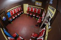 Sutton FC - away dressing room