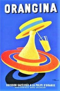 Themes Vintage ads  - Orangina -Villemot