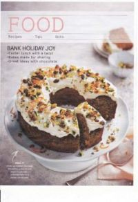 Food recipes (February 2019) 175 - Carrot, Pistachio & Maple Bundt cake (1 of 2) Image
